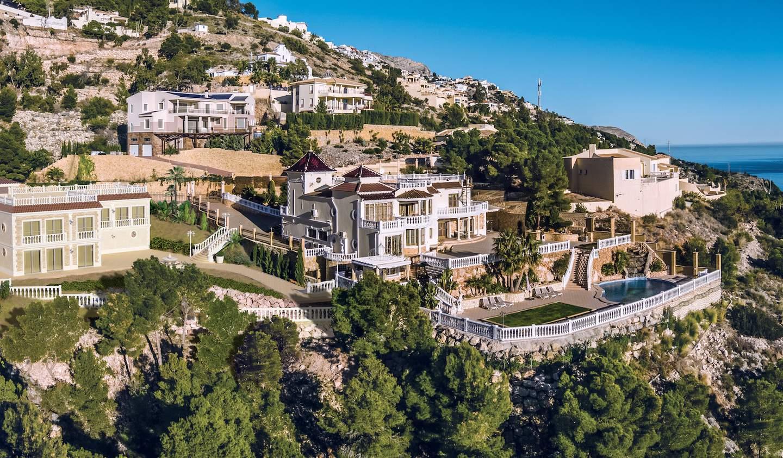 Villa avec piscine en bord de mer Altea