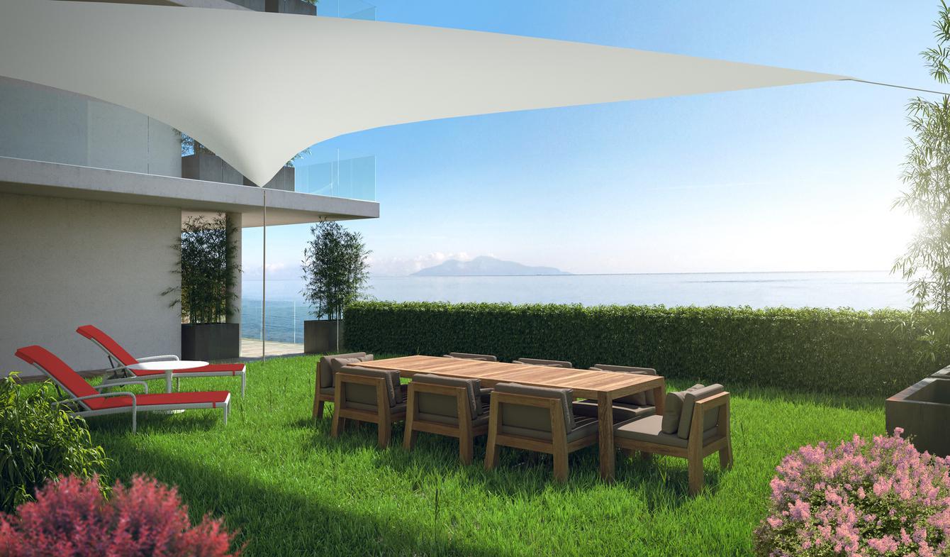 Appartement contemporain avec terrasse en bord de mer Bastia