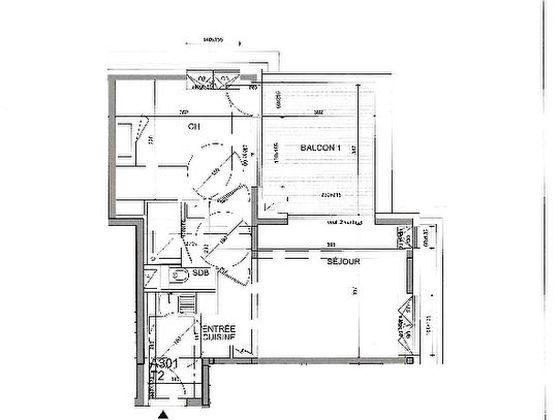 Vente appartement 2 pièces 39,36 m2