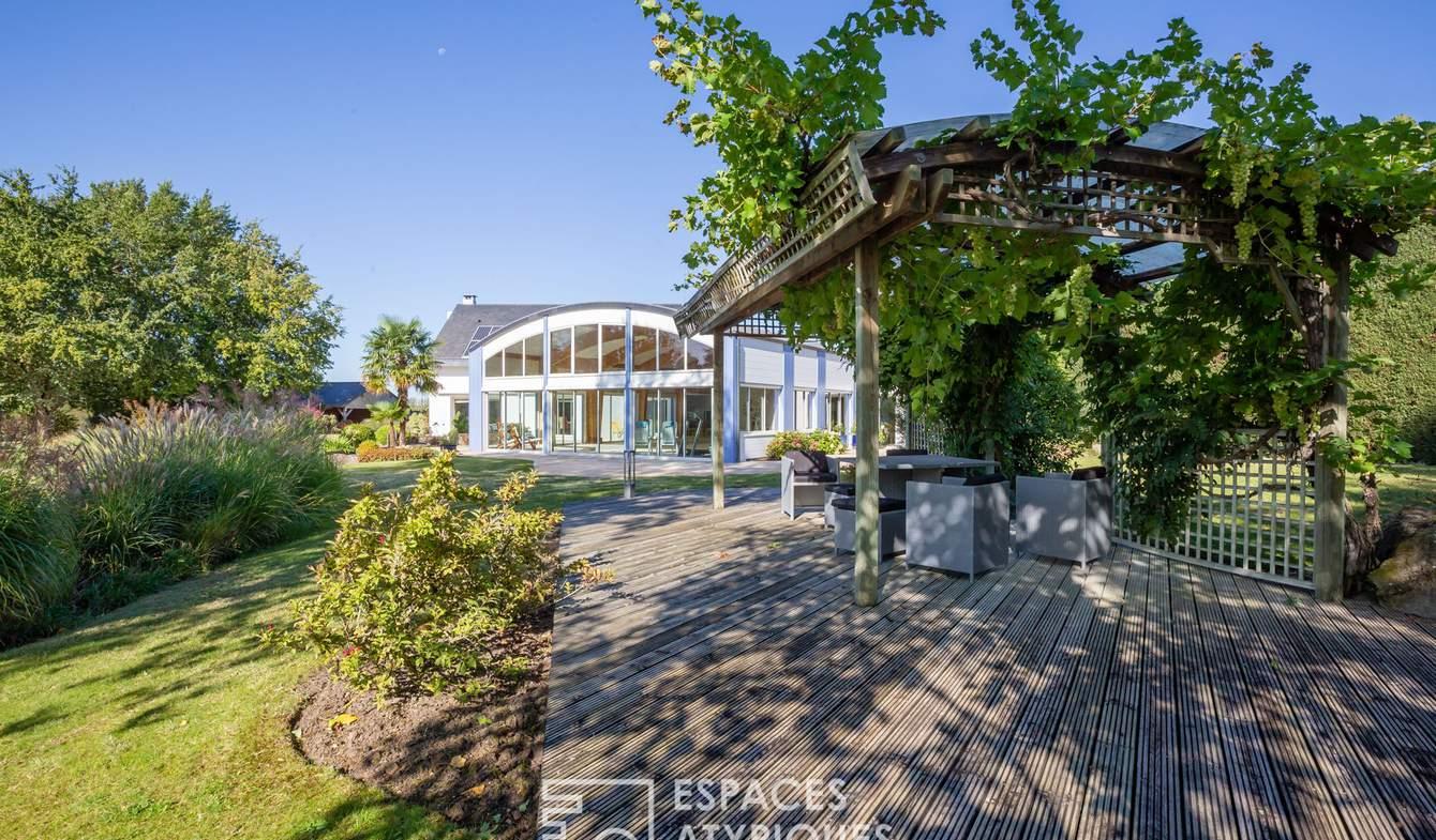 Maison avec piscine Longué-Jumelles