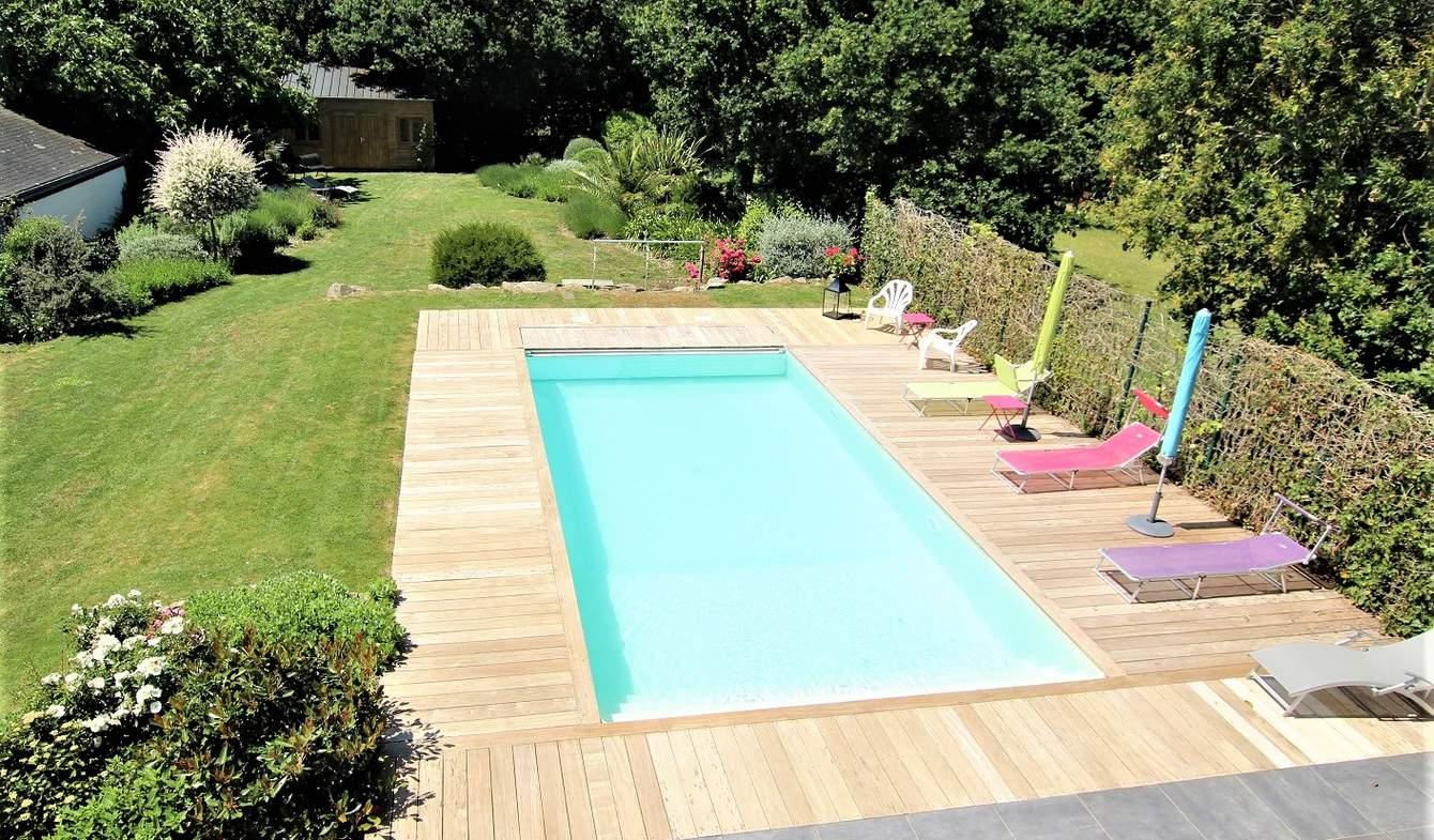 Maison avec piscine et terrasse Locmariaquer