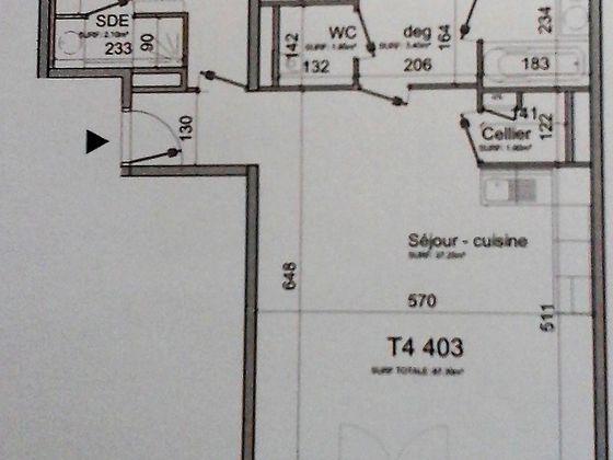 Vente appartement 5 pièces 107,52 m2