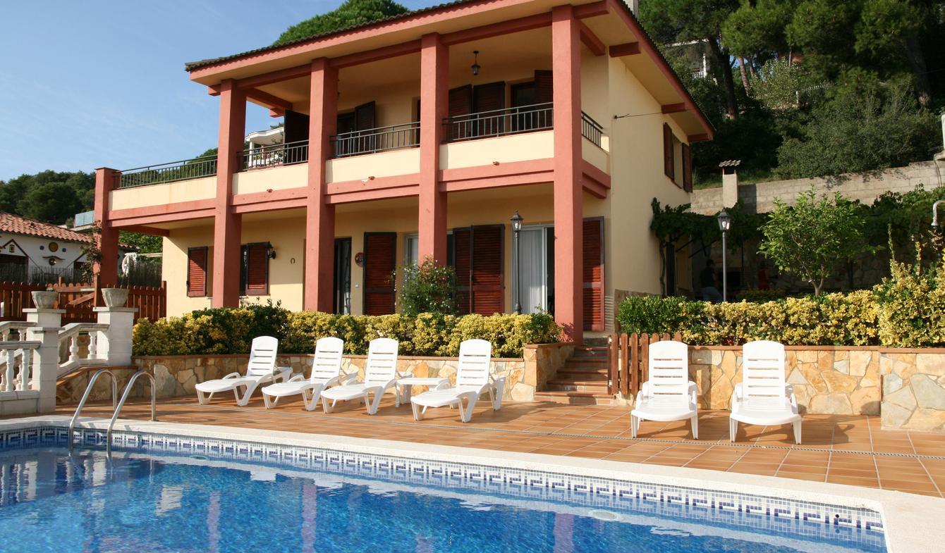Villa en bord de mer avec jardin Blanes