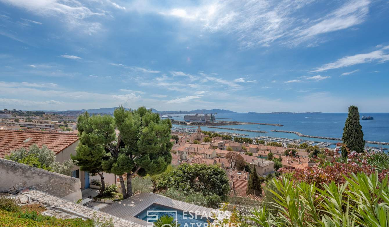 Maison avec piscine et terrasse Marseille 16ème
