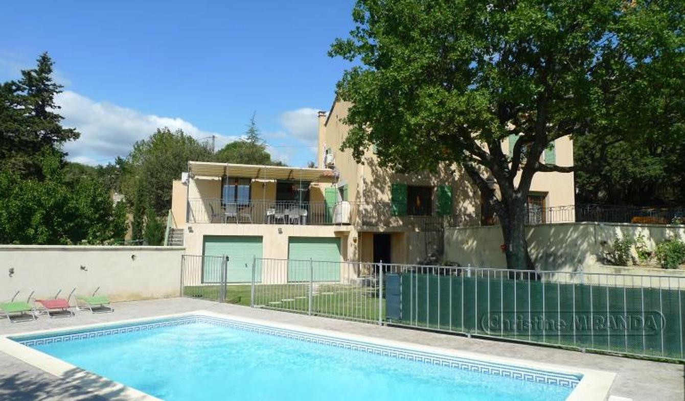 Maison avec piscine et terrasse Grignan