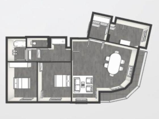 Vente appartement 3 pièces 69,96 m2