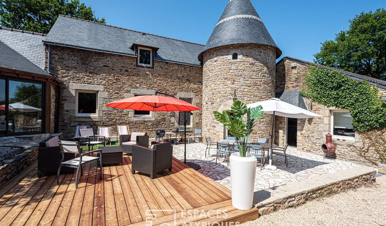 Maison avec piscine et terrasse Auray