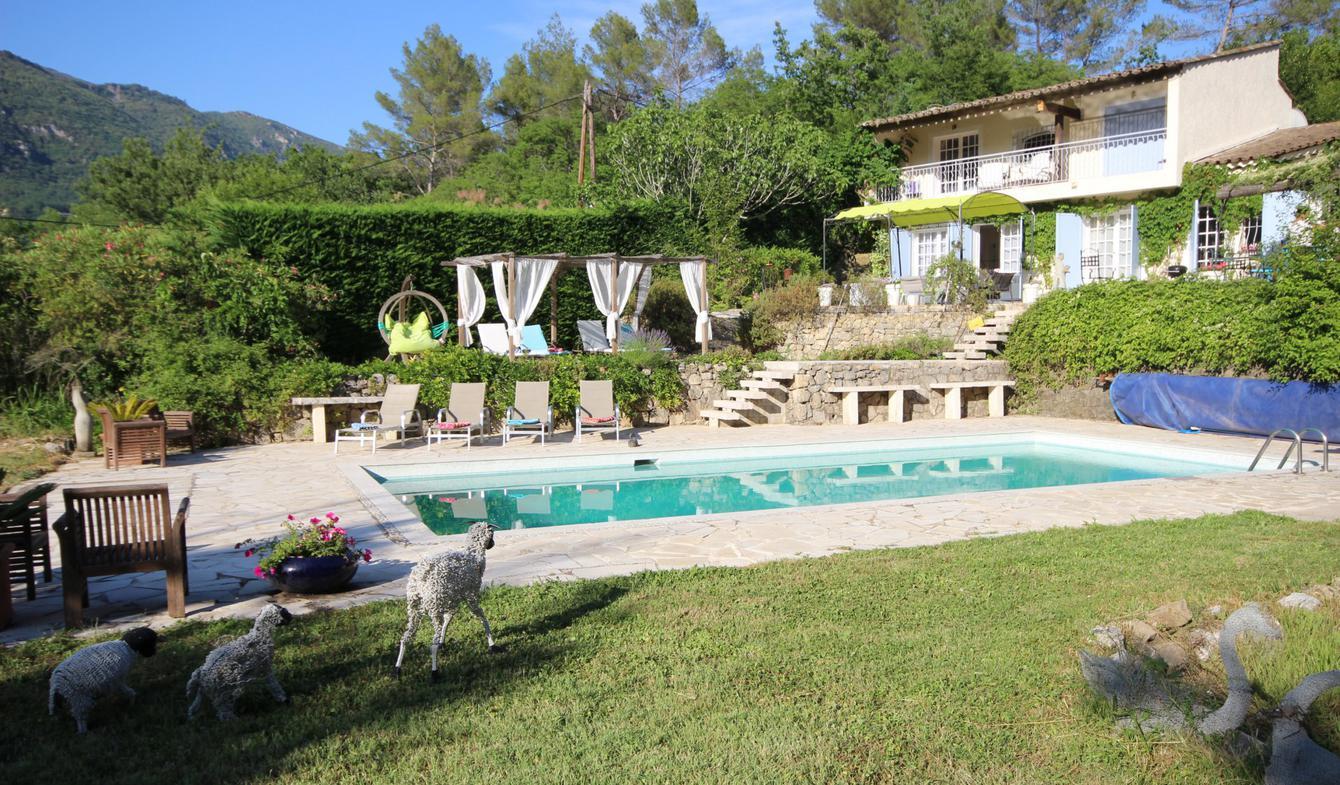 Villa avec piscine Le Bar-sur-Loup