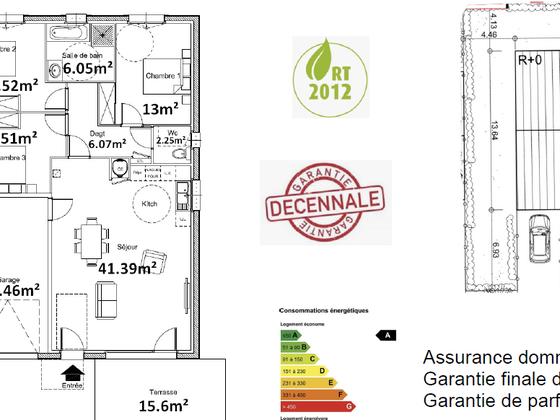 Vente maison 4 pièces 91,79 m2