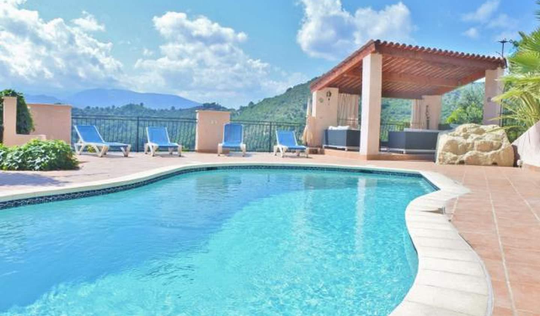 Villa avec piscine et terrasse Levens