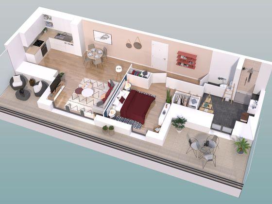 Vente appartement 2 pièces 54,03 m2