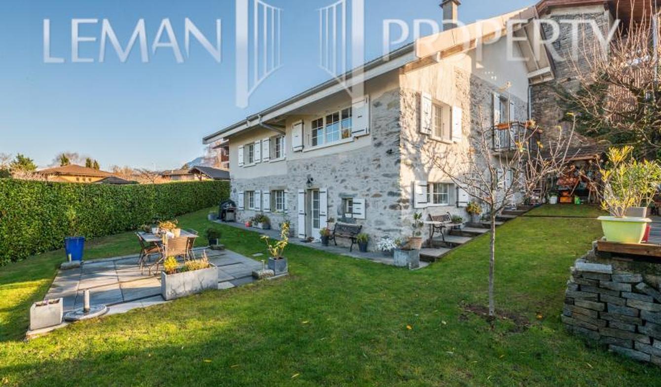 Maison avec piscine et terrasse Neuvecelle