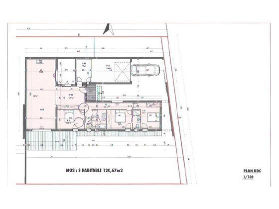Vente maison 4 pièces 120,67 m2