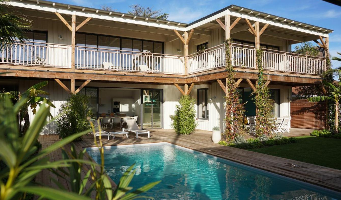Maison avec piscine et jardin Lege-cap-ferret
