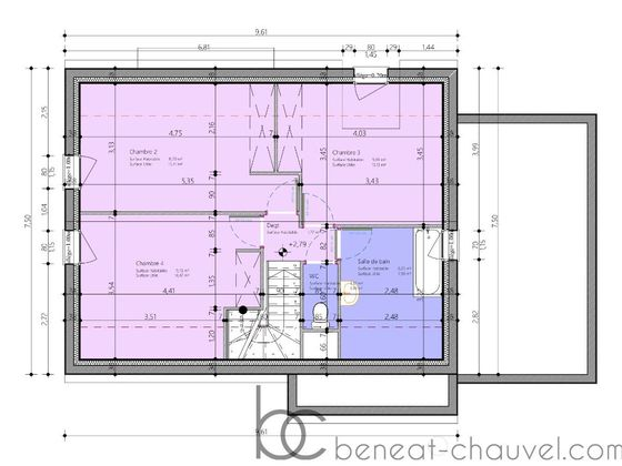Vente maison 5 pièces 102,62 m2