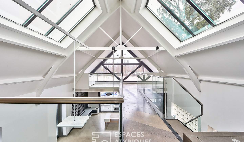 Maison avec terrasse Sartrouville