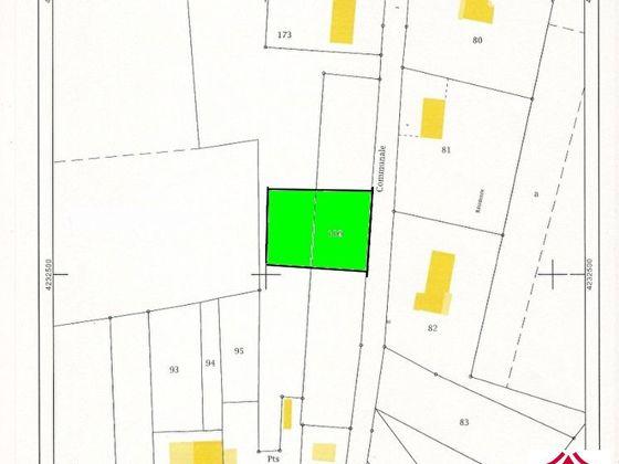 Vente terrain 910 m2