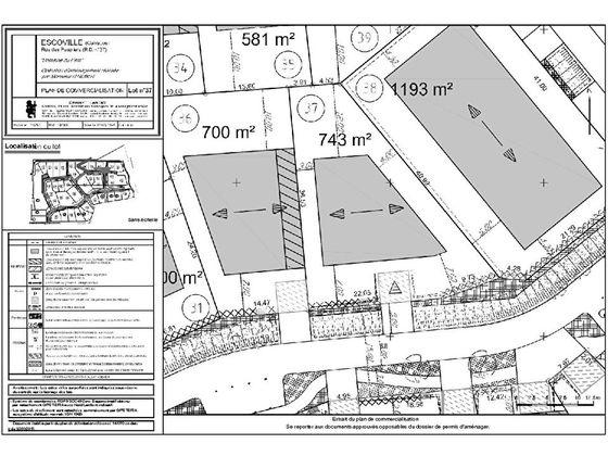 Vente terrain 743 m2
