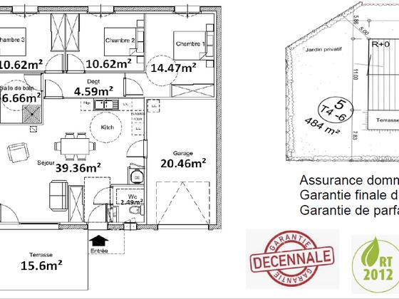 Vente maison 4 pièces 88,81 m2