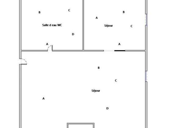 Vente studio 17,02 m2