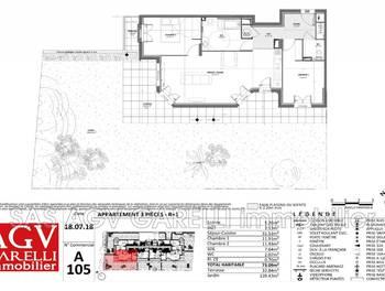 Appartement 3 pièces 73,09 m2