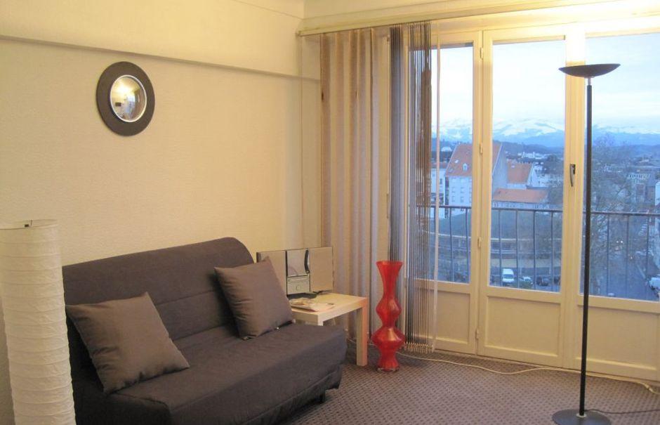 Location meublée studio 1 pièce 24 m² à Pau (64000), 395 €