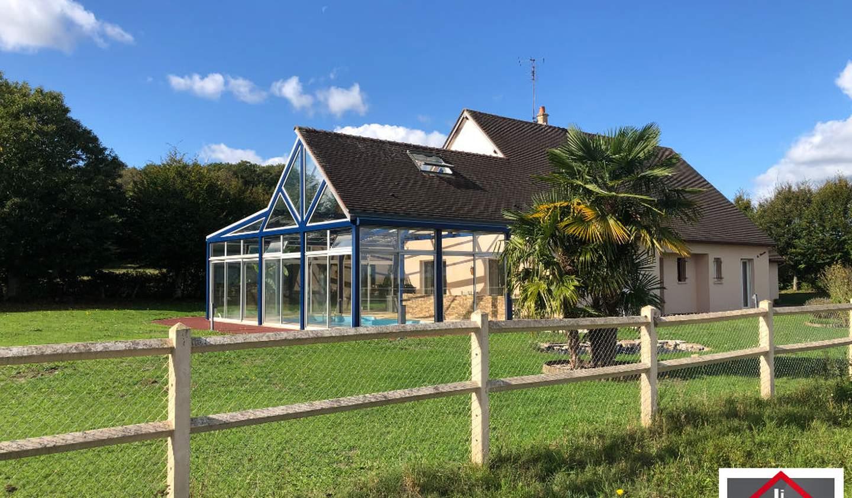 Property with pool Alencon