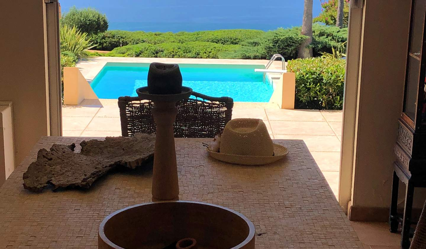 House with pool and garden Ajaccio