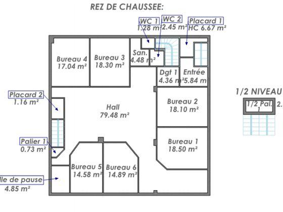 Vente divers 18 pièces 849 m2