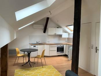 Studio meublé 51,64 m2