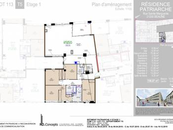 Appartement 5 pièces 156,87 m2