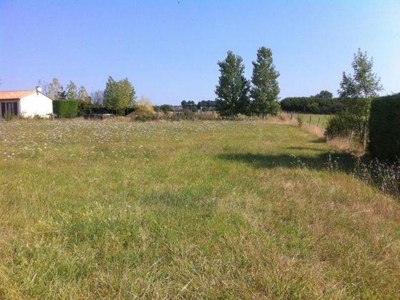 Vente terrain 1349 m2