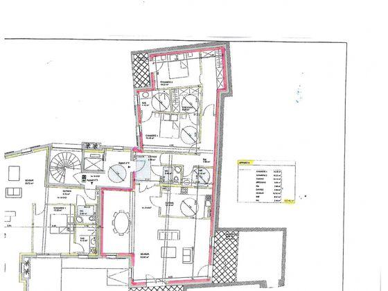 Vente appartement 4 pièces 127,45 m2