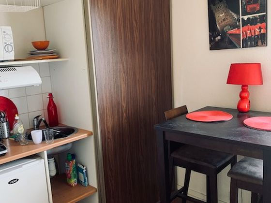 Location studio meublé 17,74 m2