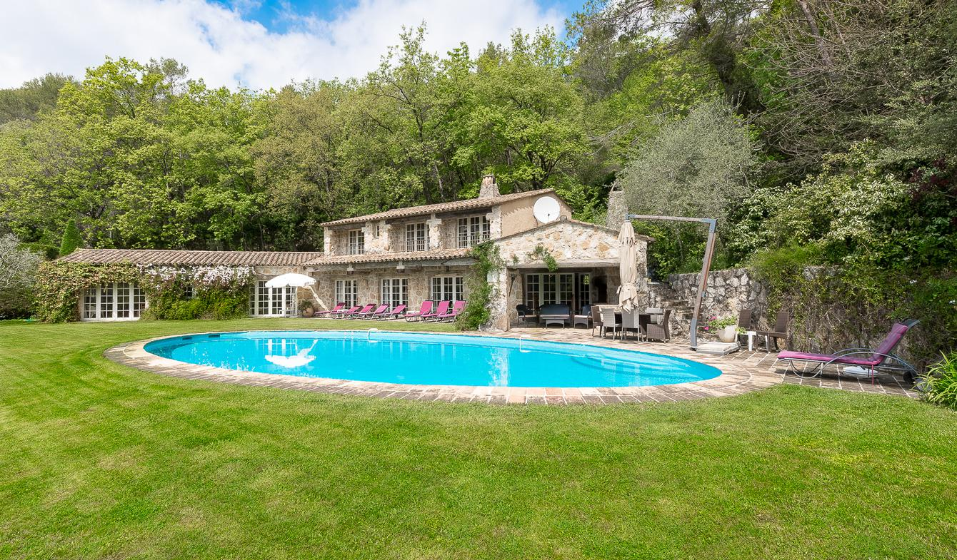 Villa with pool and garden Tourrettes-sur-Loup