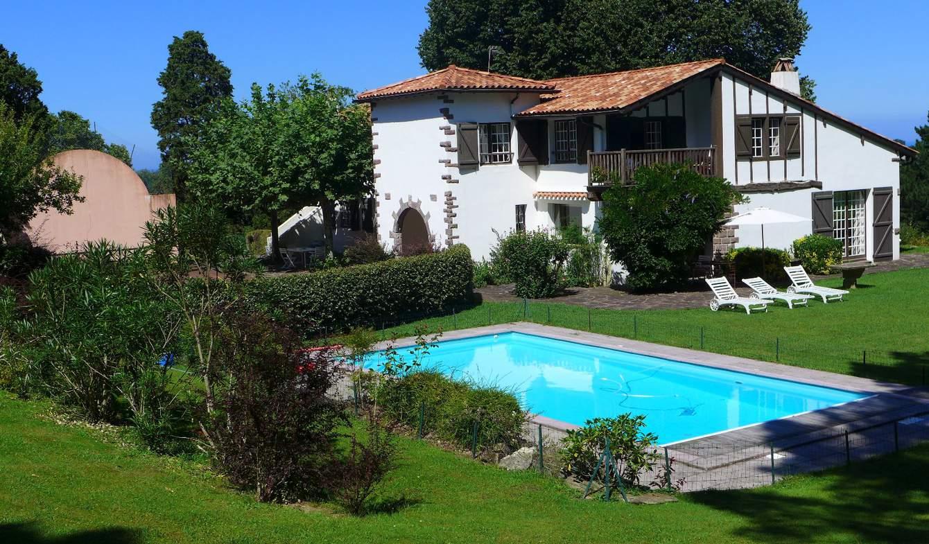 Maison avec piscine et terrasse Urrugne