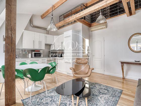 Location appartement meublé 3 pièces 61 m2