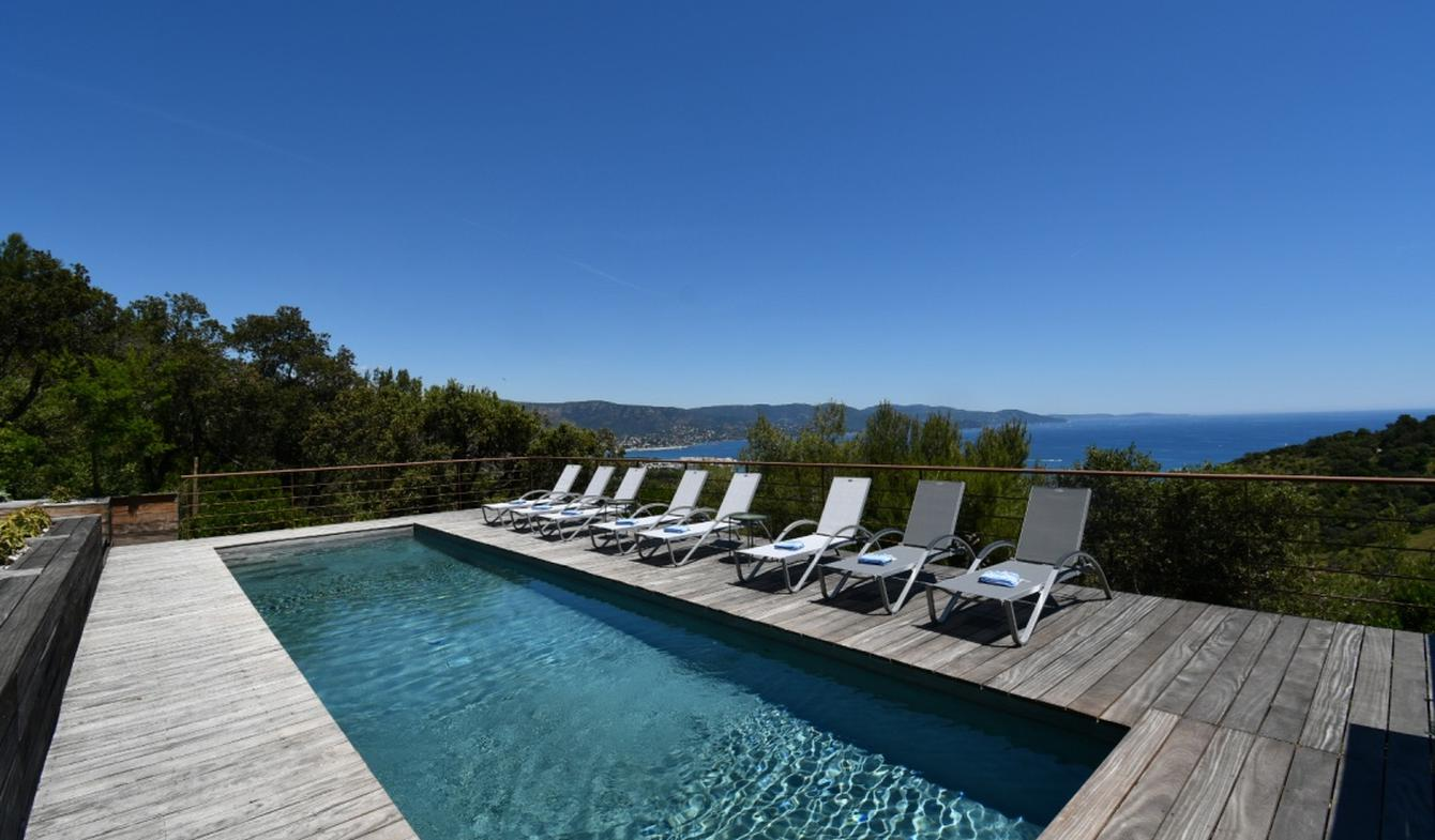 Seaside villa with pool Bormes-les-Mimosas