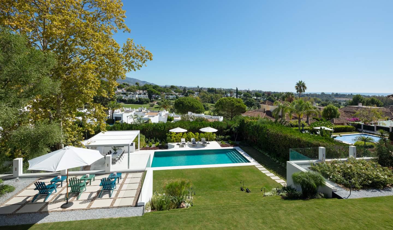 Villa avec piscine et jardin Nueva Andalucia