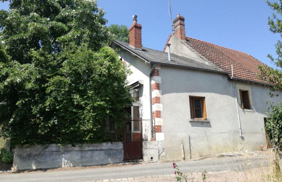 Vente maison 4 pièces 80 m² à Parigny-les-Vaux (58320), 45 000 €