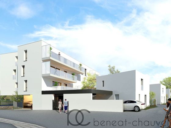 Vente appartement 2 pièces 42,11 m2