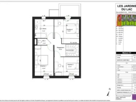 Vente maison 4 pièces 83,4 m2