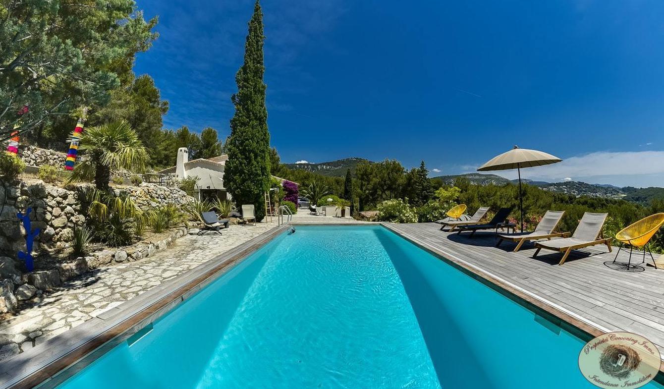 Propriété avec piscine et jardin Sanary-sur-Mer