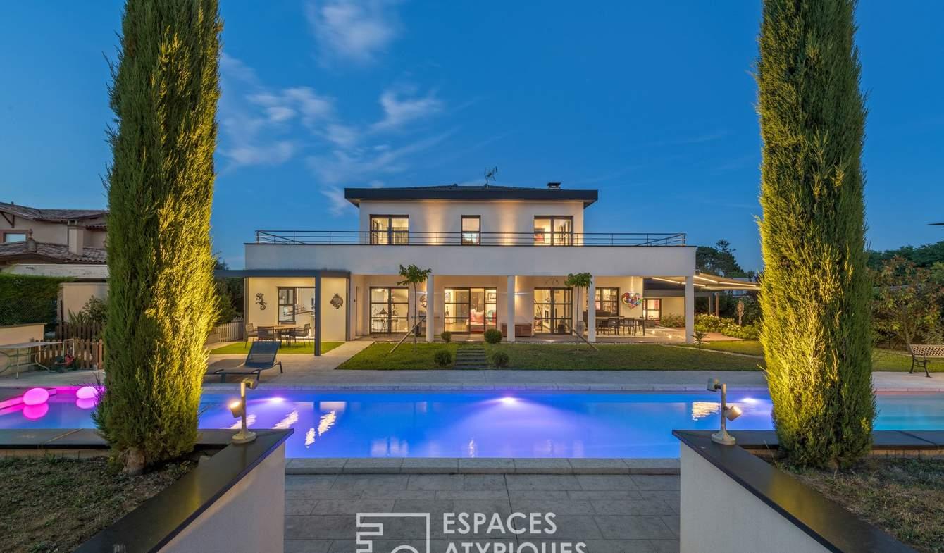 Maison avec piscine et terrasse Saint-Cyr-au-Mont-d'Or