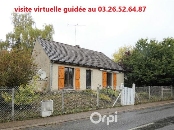 Vente maison 4 pièces 74,42 m2