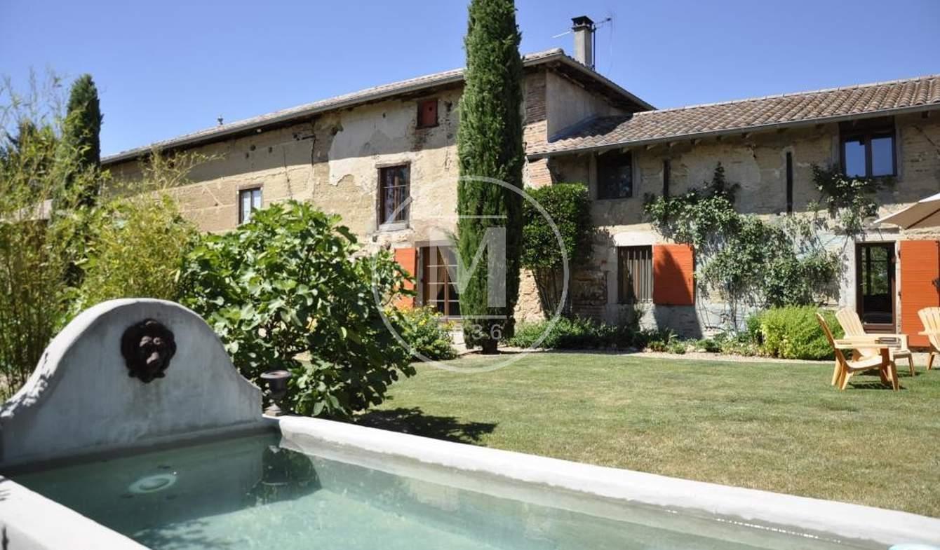 Maison avec terrasse Chatillon-sur-chalaronne