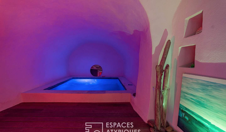 Maison avec piscine et terrasse Saint-Côme-et-Maruéjols