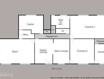 Appartement 6 pièces 173,23 m2