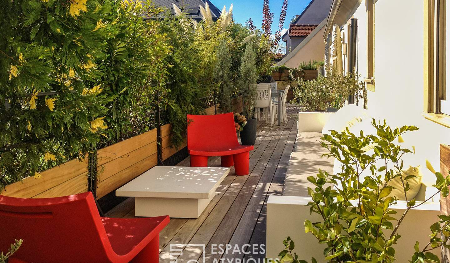 Apartment with terrace Strasbourg