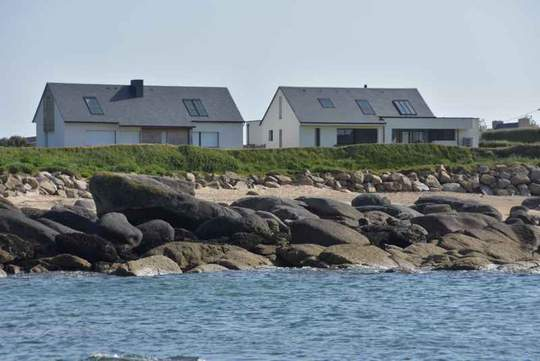 Seaside house and garden